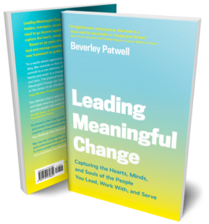 Photo of Leading Meaningful Change, a book from Beverley Patwell